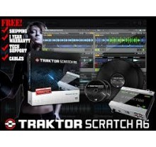 DJ CONTROLLER NATIVE TRAKTOR SCRATCH  A6