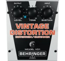 ΠΕΤΑΛ  BEHRINGER VD-1 VINTAGE DISTORTION