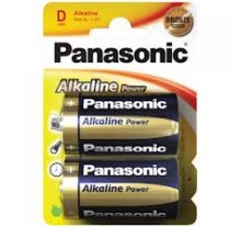 ΜΠΑΤΑΡΙΑ  PANASONIC ΑΛΚΑΛΙΚΗ POWER  D / LR20  ( 2 ΤΕΜ )