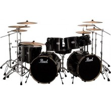 DRUM SET PEARL EX DOUBLE BASS  7 ΤΥΜΠΑΝΑ