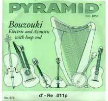 ΧΟΡΔΕΣ ΣΕΤ 8 ΜΠΟΥΖΟΥΚΙΟΥ  PYRAMID   Nickel 011 Set